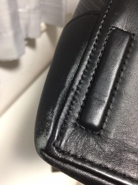 美品!TUMI ブリーフケース トゥミ バッグ CFX カーボンファイバー 本革 ビジネス 鞄 インディアナポリス スリム ブリーフケース_画像5