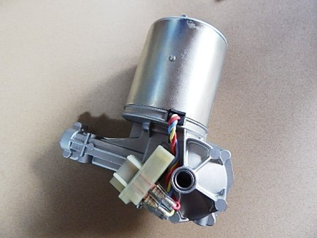新品 ローバーミニ用 ワイパー モーター パーキングスイッチ付き 4線丸ボディ GEU7708_画像1