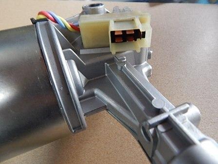 新品 ローバーミニ用 ワイパー モーター パーキングスイッチ付き 4線丸ボディ GEU7708_画像3