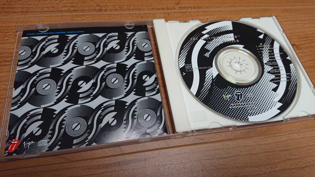 The Rolling Stones / ザ・ローリング・ストーンズ Steel Wheels 国内盤 帯あり
