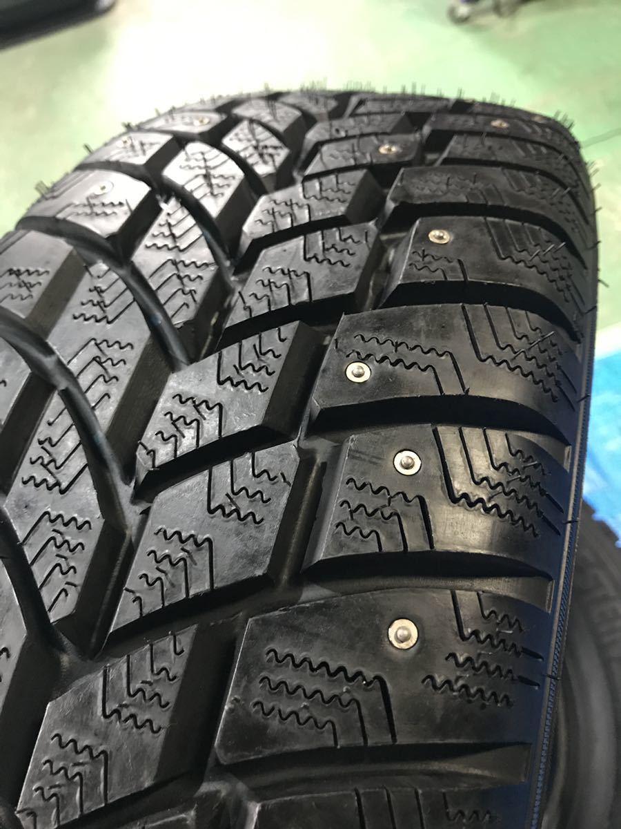 205/65R15 スパイクタイヤ 未使用 4本 ピンタイヤ 競技用タイヤ スノータイヤ 205-65-15_画像5