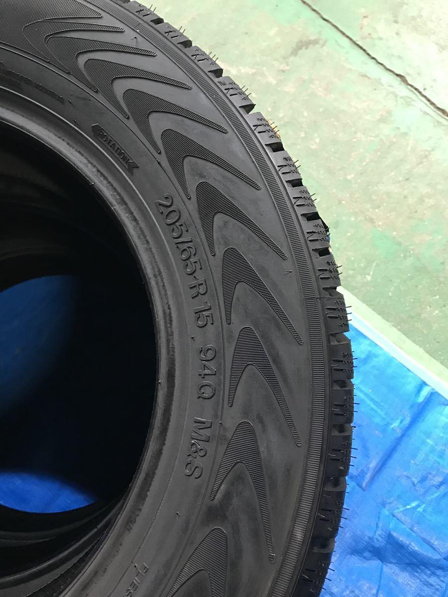 205/65R15 スパイクタイヤ 未使用 4本 ピンタイヤ 競技用タイヤ スノータイヤ 205-65-15_画像7