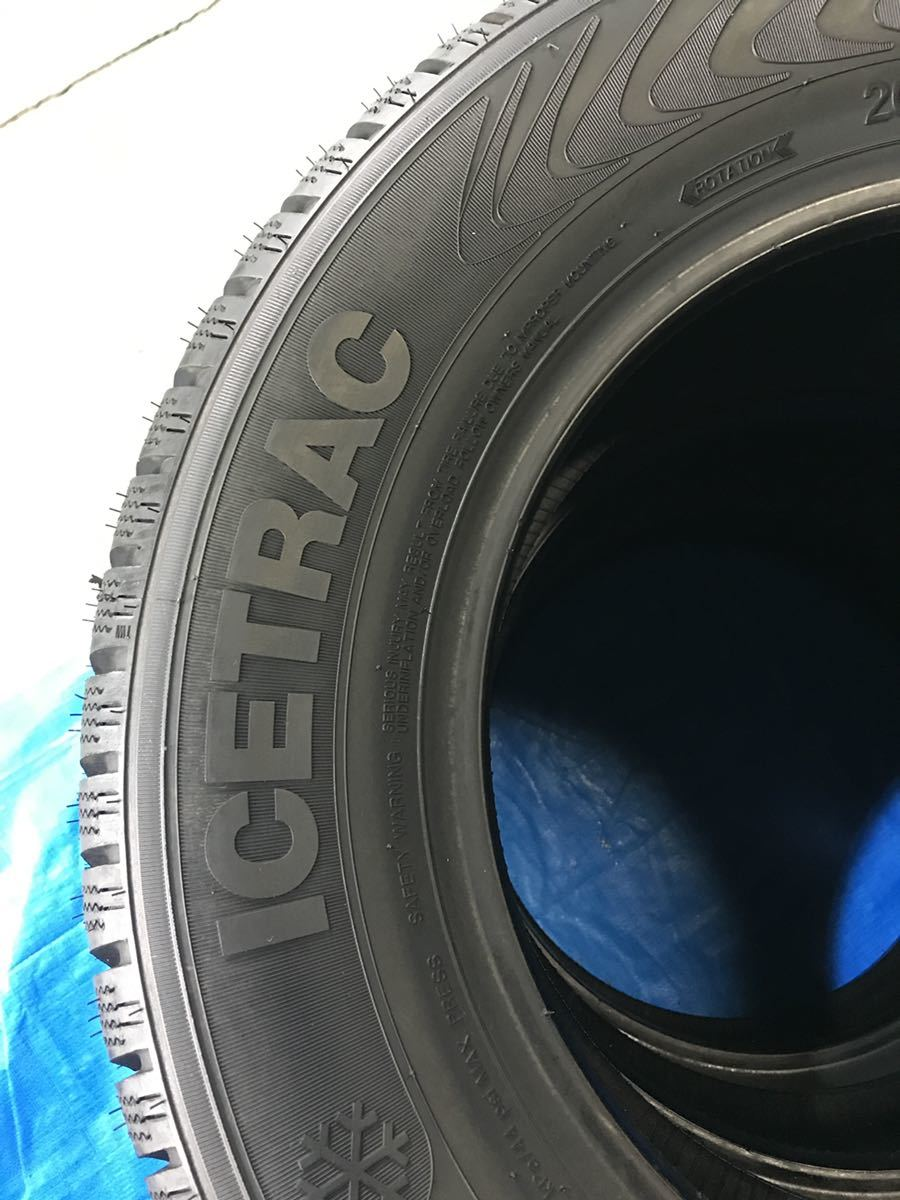 205/65R15 スパイクタイヤ 未使用 4本 ピンタイヤ 競技用タイヤ スノータイヤ 205-65-15_画像8