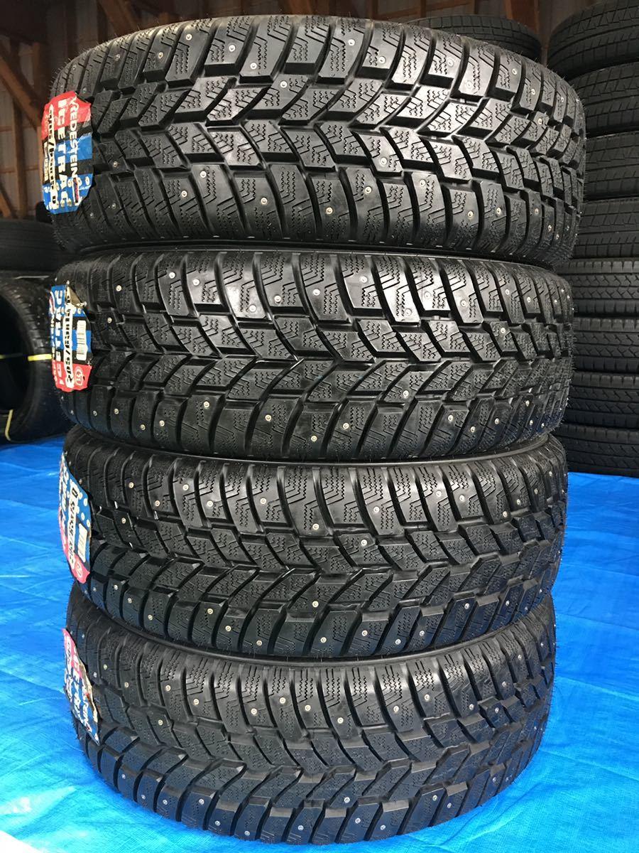 205/65R15 スパイクタイヤ 未使用 4本 ピンタイヤ 競技用タイヤ スノータイヤ 205-65-15_画像1