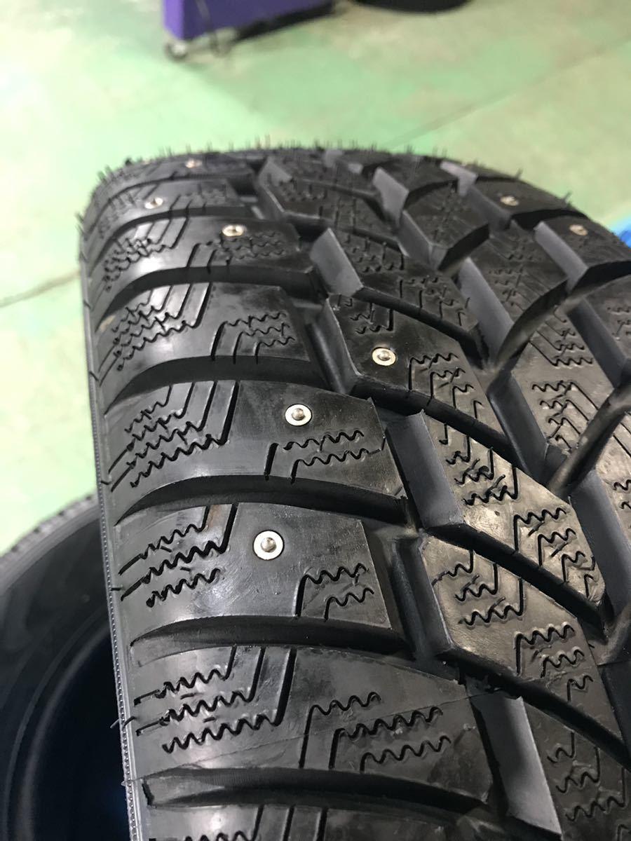 205/65R15 スパイクタイヤ 未使用 4本 ピンタイヤ 競技用タイヤ スノータイヤ 205-65-15_画像4