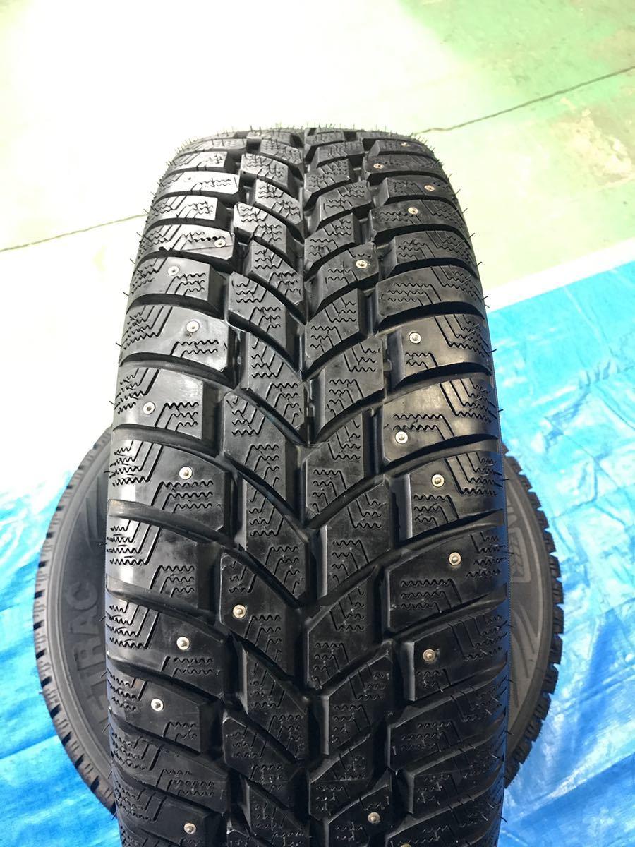 205/65R15 スパイクタイヤ 未使用 4本 ピンタイヤ 競技用タイヤ スノータイヤ 205-65-15_画像3