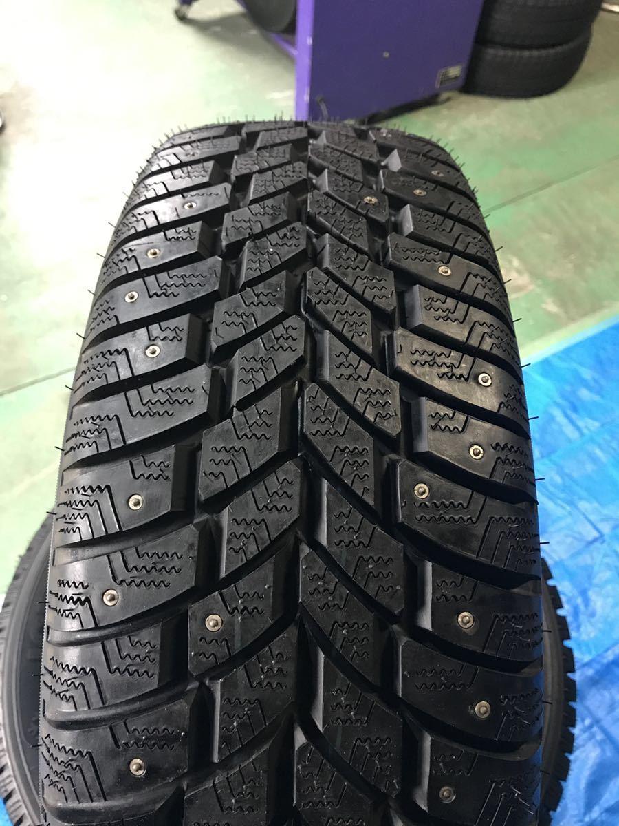 205/65R15 スパイクタイヤ 未使用 4本 ピンタイヤ 競技用タイヤ スノータイヤ 205-65-15_画像2