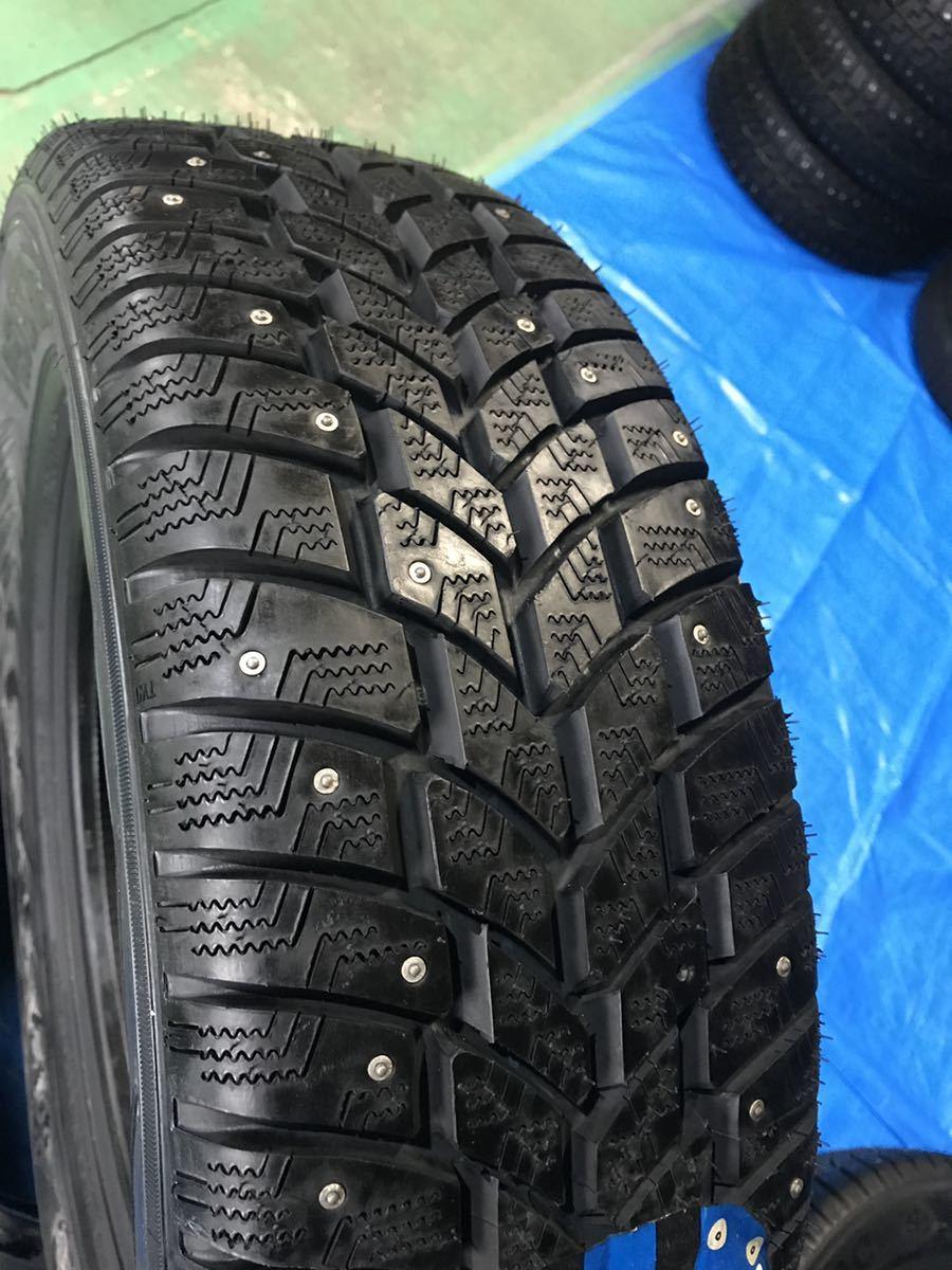205/65R15 スパイクタイヤ 未使用 4本 ピンタイヤ 競技用タイヤ スノータイヤ 205-65-15_画像6