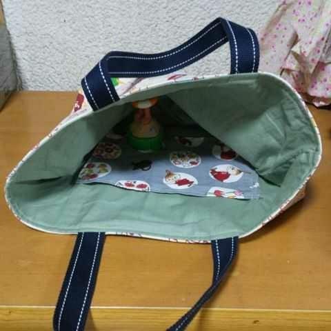 ハンドメイド【ムーミン】ミニトートバッグ