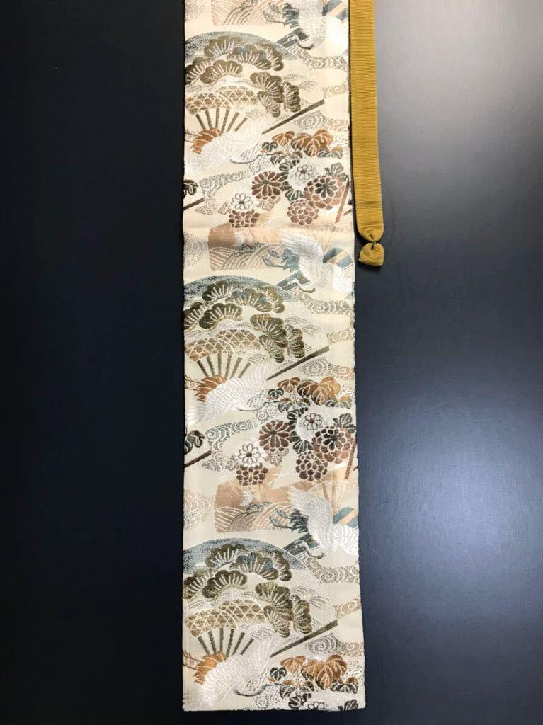 限定4本 日本刀 太刀 刀 刀袋 飛鶴華紋 鶴紋 職人ハンドメイド 100% 正絹使用 一点物 A-3_画像5