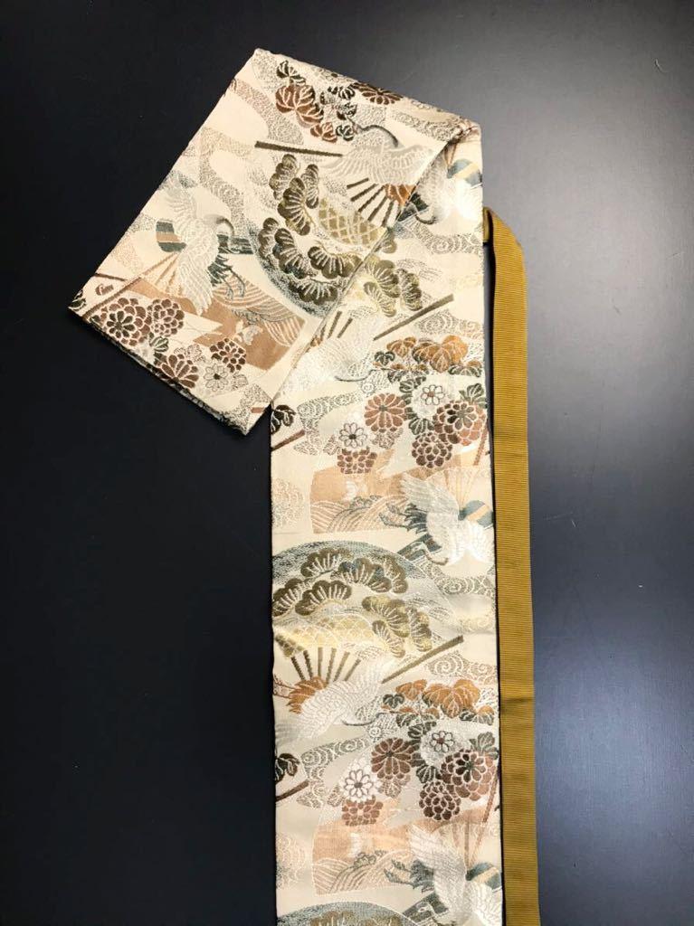 限定4本 日本刀 太刀 刀 刀袋 飛鶴華紋 鶴紋 職人ハンドメイド 100% 正絹使用 一点物 A-3_画像3
