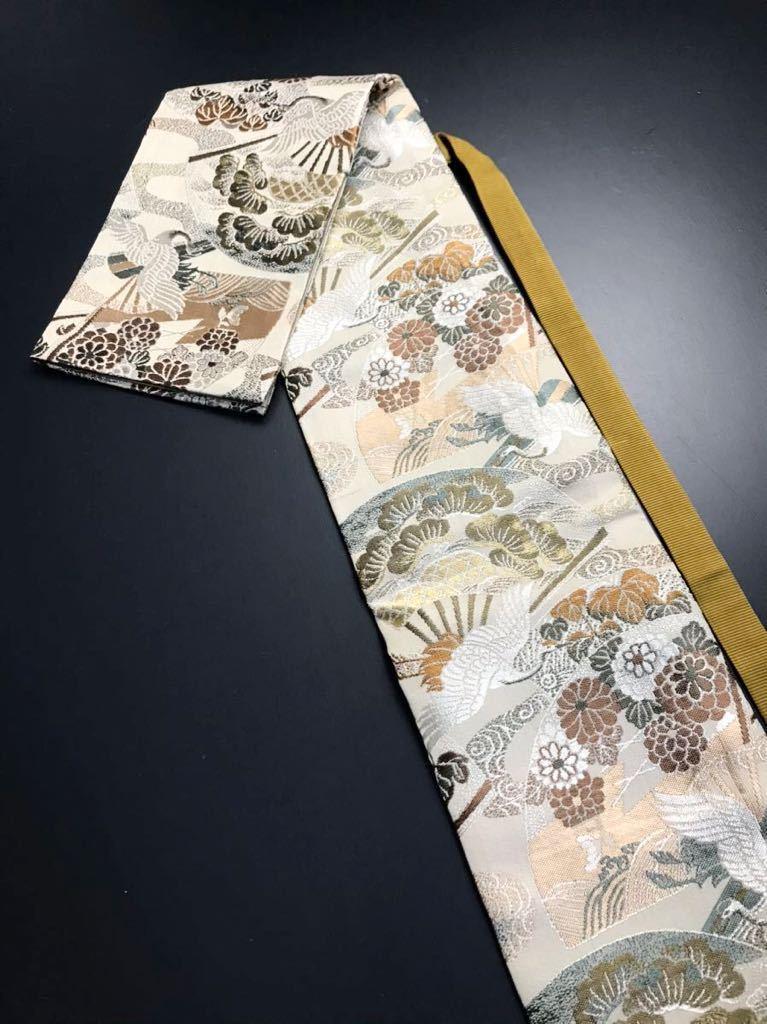 限定4本 日本刀 太刀 刀 刀袋 飛鶴華紋 鶴紋 職人ハンドメイド 100% 正絹使用 一点物 A-3_画像1