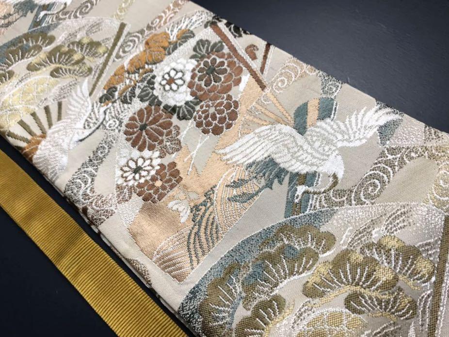 限定4本 日本刀 太刀 刀 刀袋 飛鶴華紋 鶴紋 職人ハンドメイド 100% 正絹使用 一点物 A-3_画像2