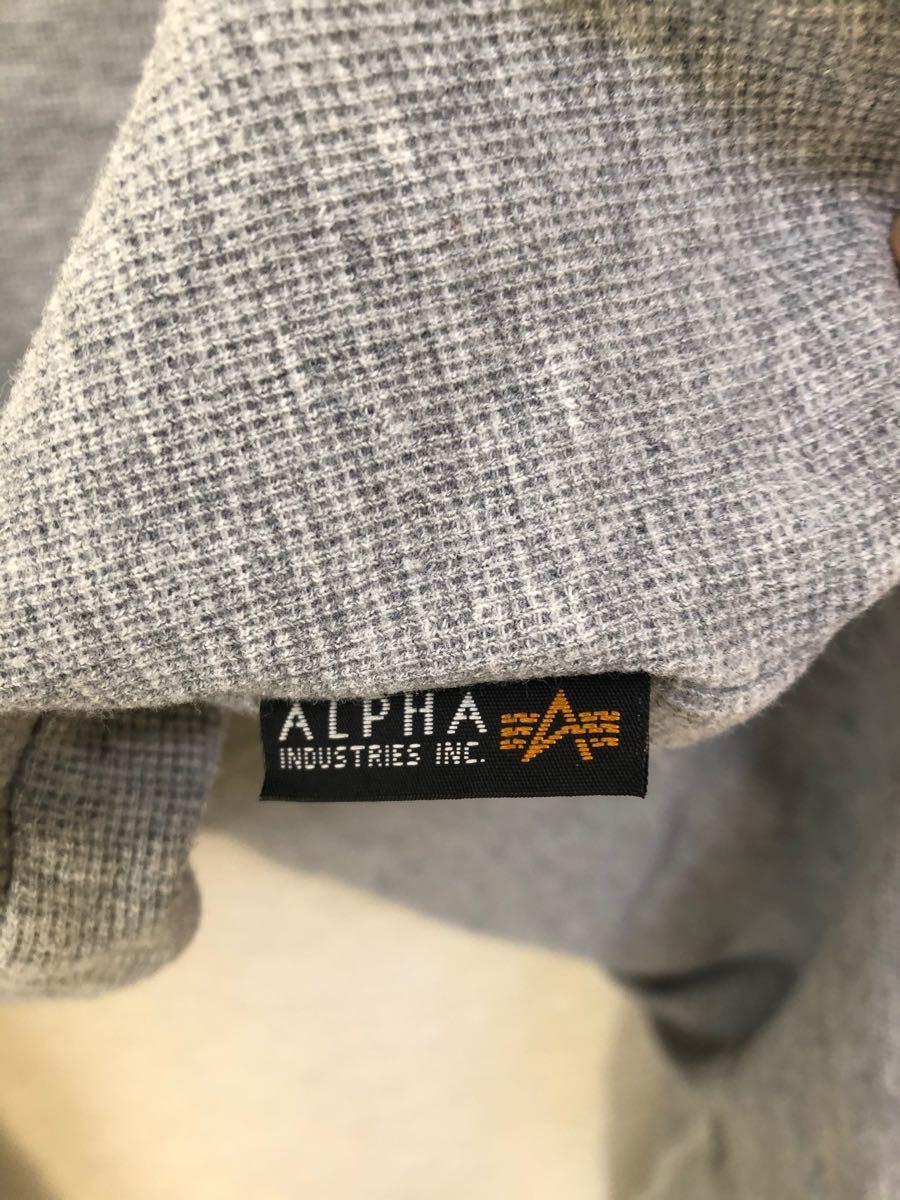 Alpha カットソー メンズ Lサイズ 長袖Tシャツ 長袖カットソー