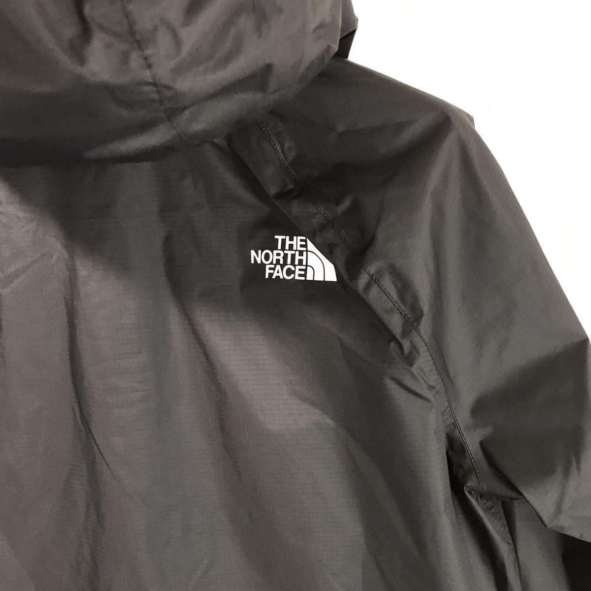 ラスト① 新品未使用 ブラック×ホワイトロゴ The North Face (メンズM)【ボレアルジャケット】マウンテンパーカー 人気 US正規品 ナイロン_画像9