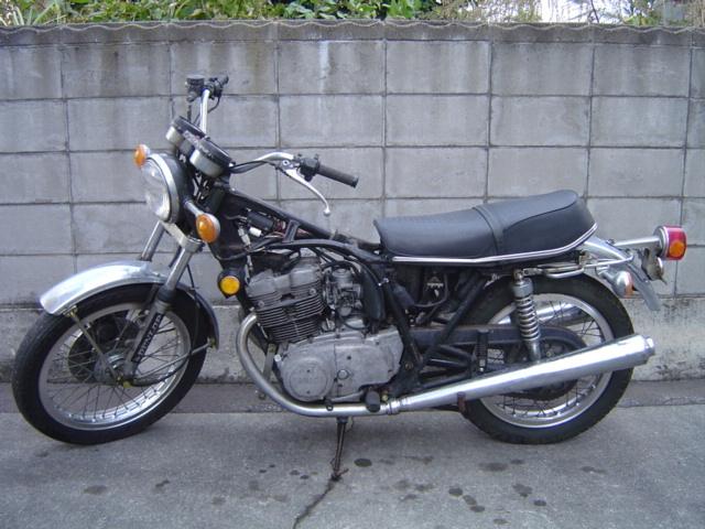 「〇ヤマハ TX500(371)部品取車byあおもり」の画像1