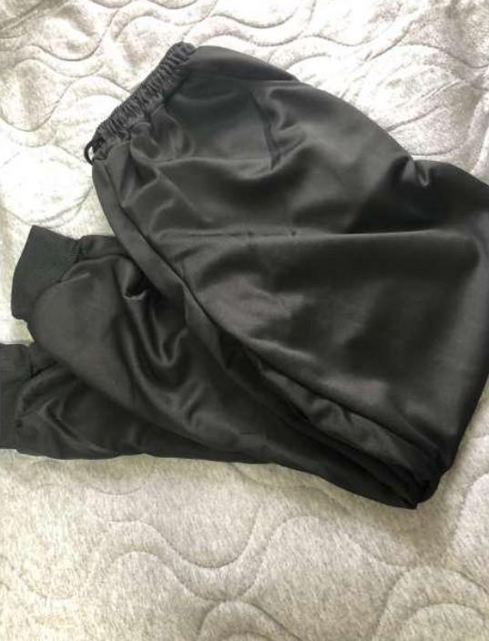 【SALE】ジョガーパンツ 黒 ブラック スキニー Lサイズ 男女兼用