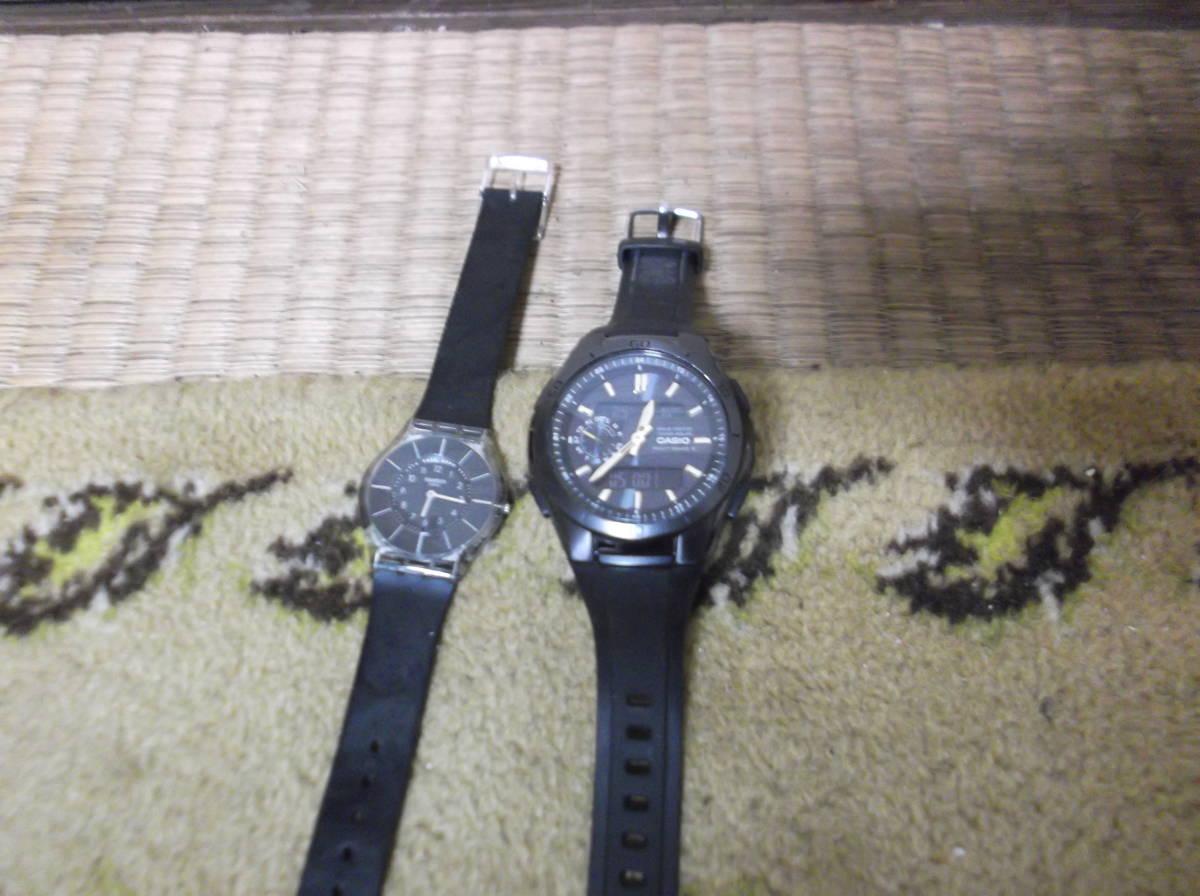 ●CASIO カシオ WVA-M650 メンズ 腕時計/SWATCH スウォッチ●