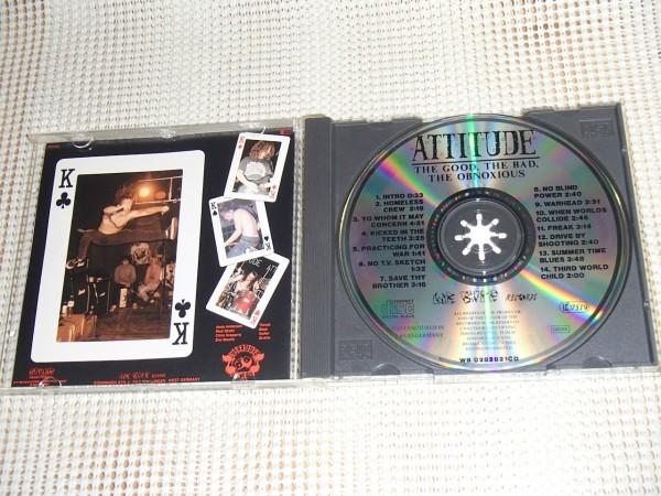 廃盤 Attitude アティチュード The Good The Bad The Obnoxious / Eric Brecht (ex: death ) Andy ( Two-Bit Thief )在籍 US スラッシュ
