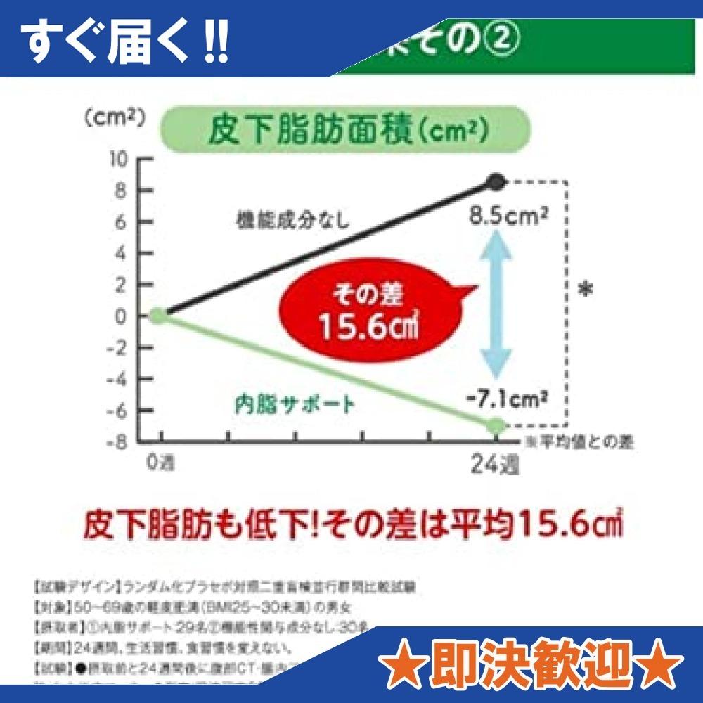 ◆大注目◆ 1袋 ファンケル (FANCL) 内脂サポート (約30日分) 120粒 [機能性表示食品] サプリメント_画像7
