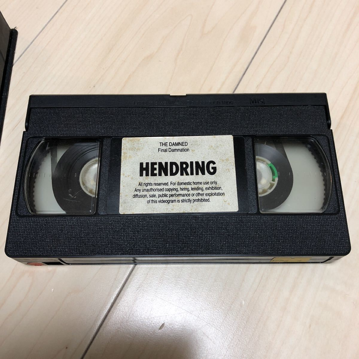 THE DAMNED VHS