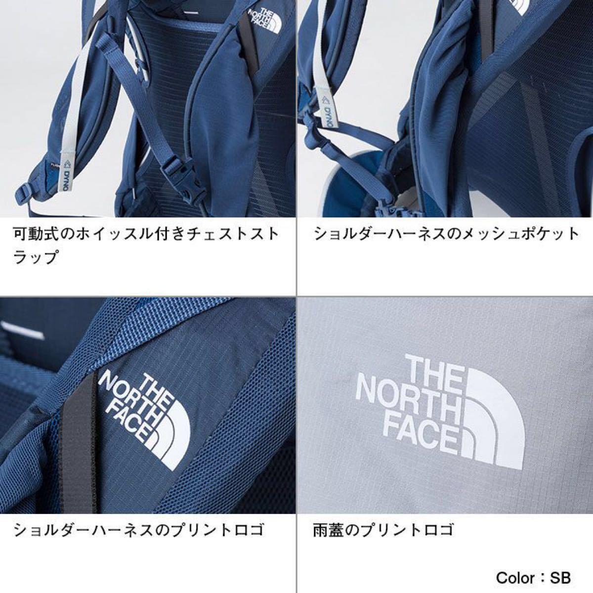 THE NORTH FACEノースフェイス リュック バンチー50青 レディース