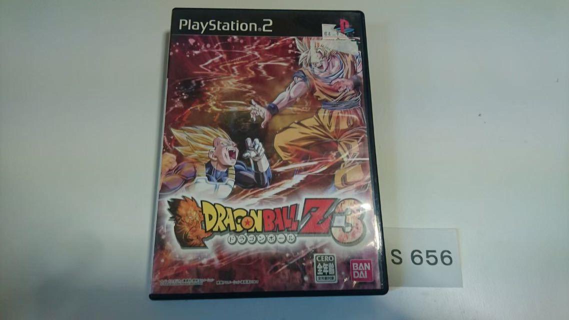 ドラゴンボール Z 3 SONY PS 2 プレイステーション PlayStation プレステ 2 ゲーム ソフト 中古_画像1