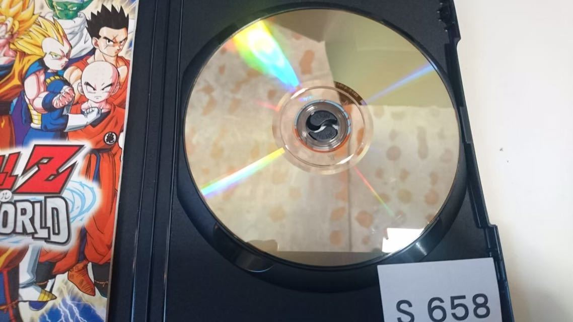 ドラゴンボール Z INFINITE WORLD インフィニット ワールド SONY PS 2 プレイステーション PlayStation プレステ 2 ゲーム ソフト 中古_画像4
