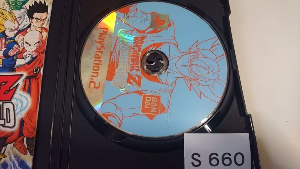 ドラゴンボール Z INFINITE WORLD インフィニット ワールド SONY PS 2 プレイステーション PlayStation プレステ 2 ゲーム ソフト 中古_画像3