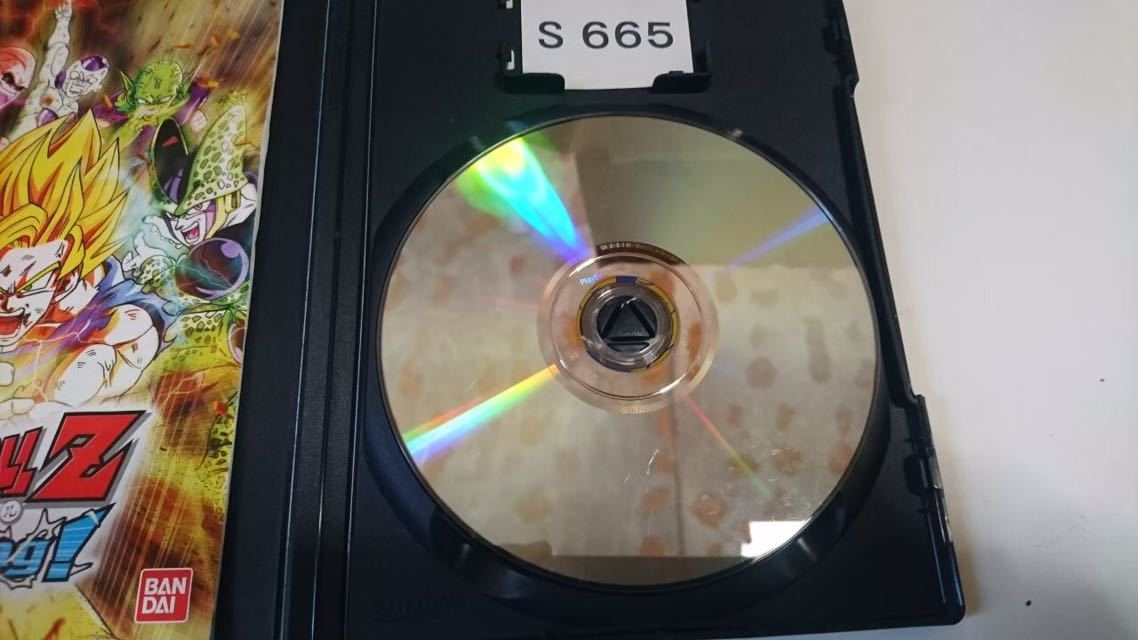 ドラゴンボール Z スパーキング SONY PS 2 プレイステーション PlayStation プレステ 2 ゲーム ソフト 中古_画像4