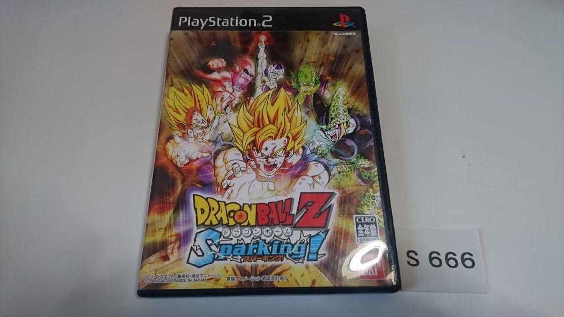 ドラゴンボール Z Sparking SONY PS 2 プレイステーション PlayStation プレステ 2 ゲーム ソフト 中古_画像1