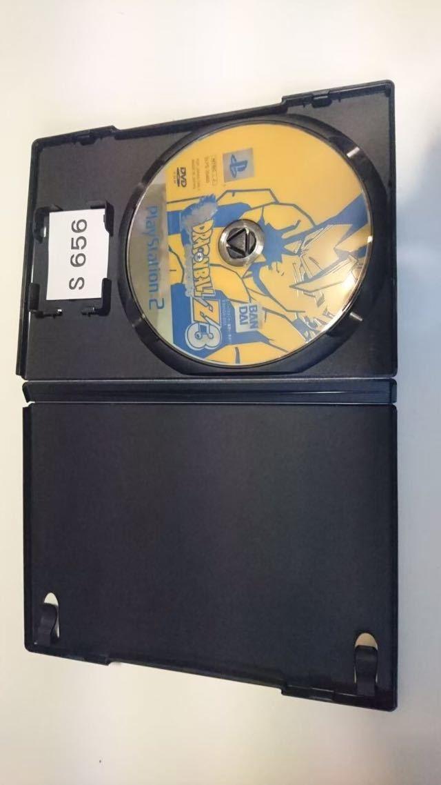 ドラゴンボール Z 3 SONY PS 2 プレイステーション PlayStation プレステ 2 ゲーム ソフト 中古_画像2