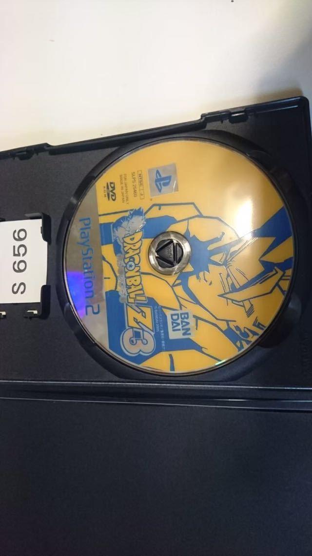 ドラゴンボール Z 3 SONY PS 2 プレイステーション PlayStation プレステ 2 ゲーム ソフト 中古_画像3