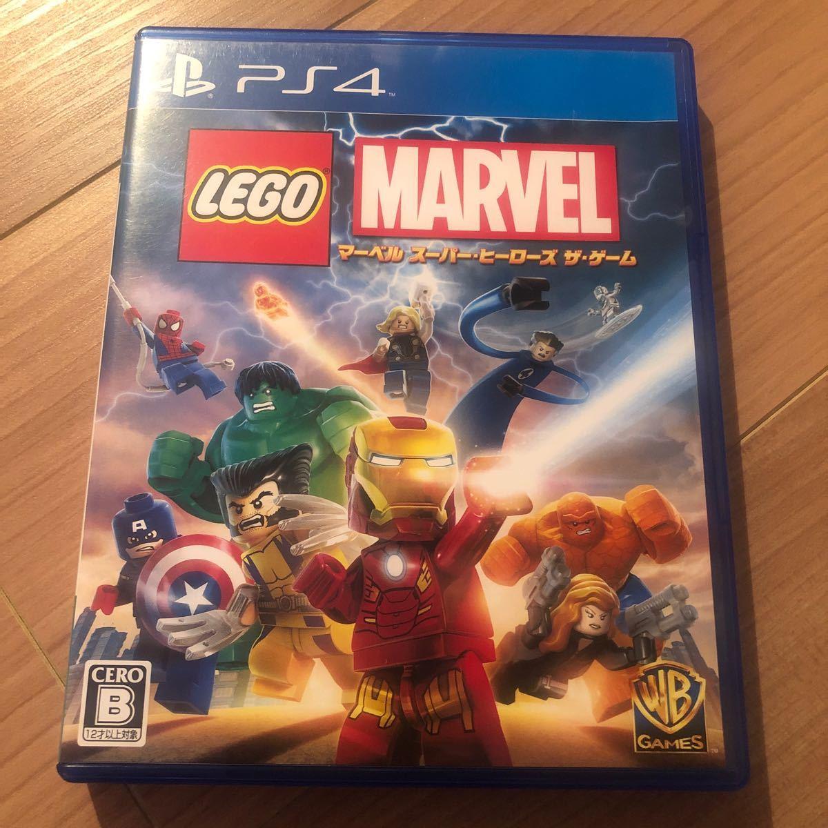 【PS4】 LEGO マーベル スーパー・ヒーローズ ザ・ゲーム