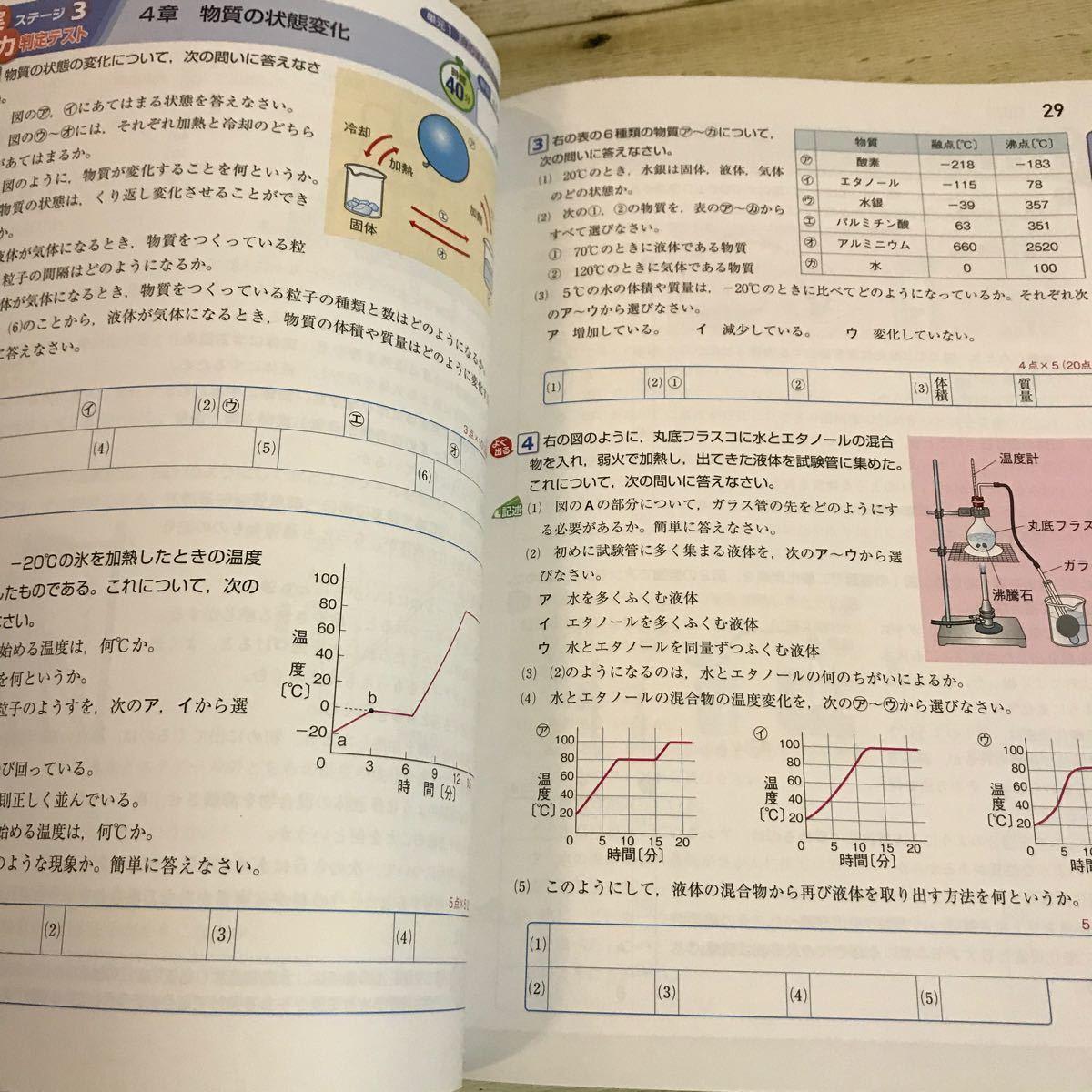 教科書ワーク 中1 理科 教育出版版