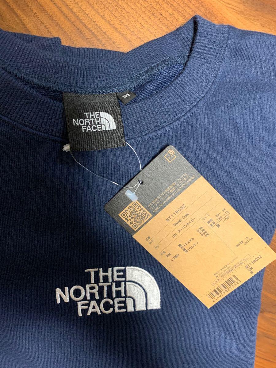 週末5% ザ・ノース・フェイス THE NORTH FACE ヘザーロゴクルー
