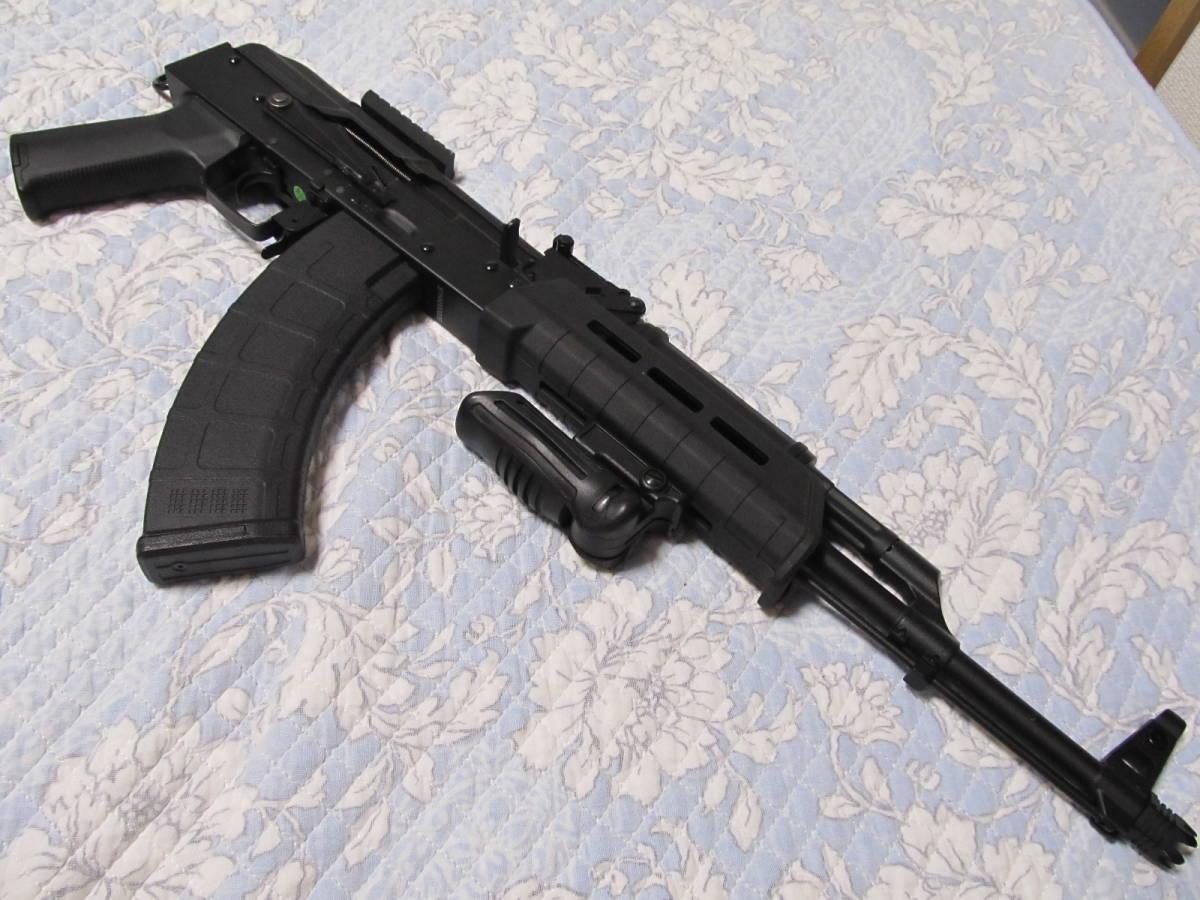電動ガン マルイ M4 CYMA AK RAS47 Zhukov ジューコフ フルメタルフレーム ショート外装カスタム 念の為ジャンク