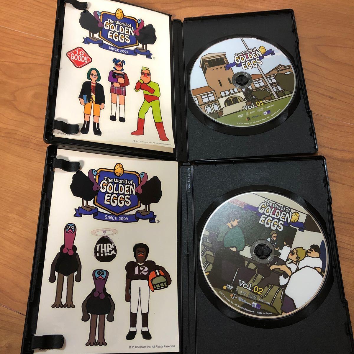 The World of GOLDEN EGGS Vol.01〜04