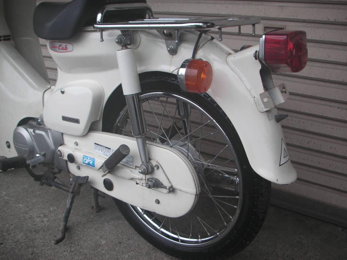 「ホンダ スーパーカブ セル無し 90cc HA02 メーカー塗装白色  1 」の画像2