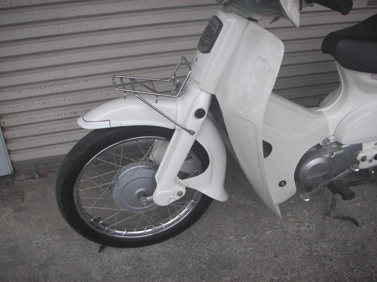 「ホンダ スーパーカブ セル無し 90cc HA02 メーカー塗装白色  1 」の画像3