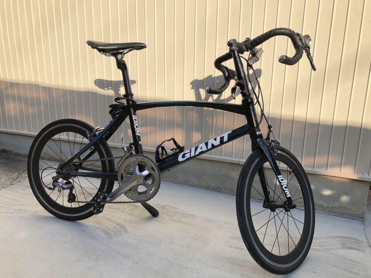 ジャイアント GAIANT ミニベロ イデオム0 ロードバイク 105 その他 空気入れサイクルバッグ_画像1