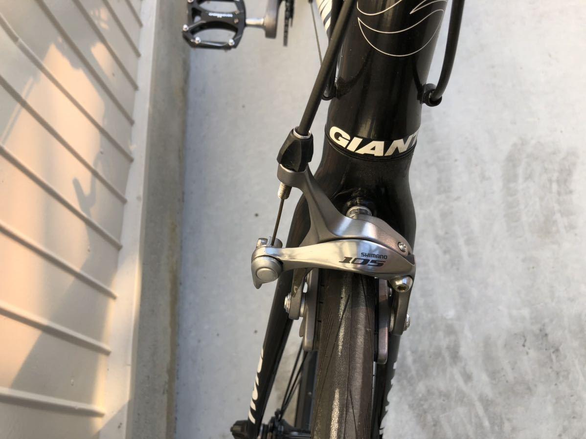 ジャイアント GAIANT ミニベロ イデオム0 ロードバイク 105 その他 空気入れサイクルバッグ_画像8