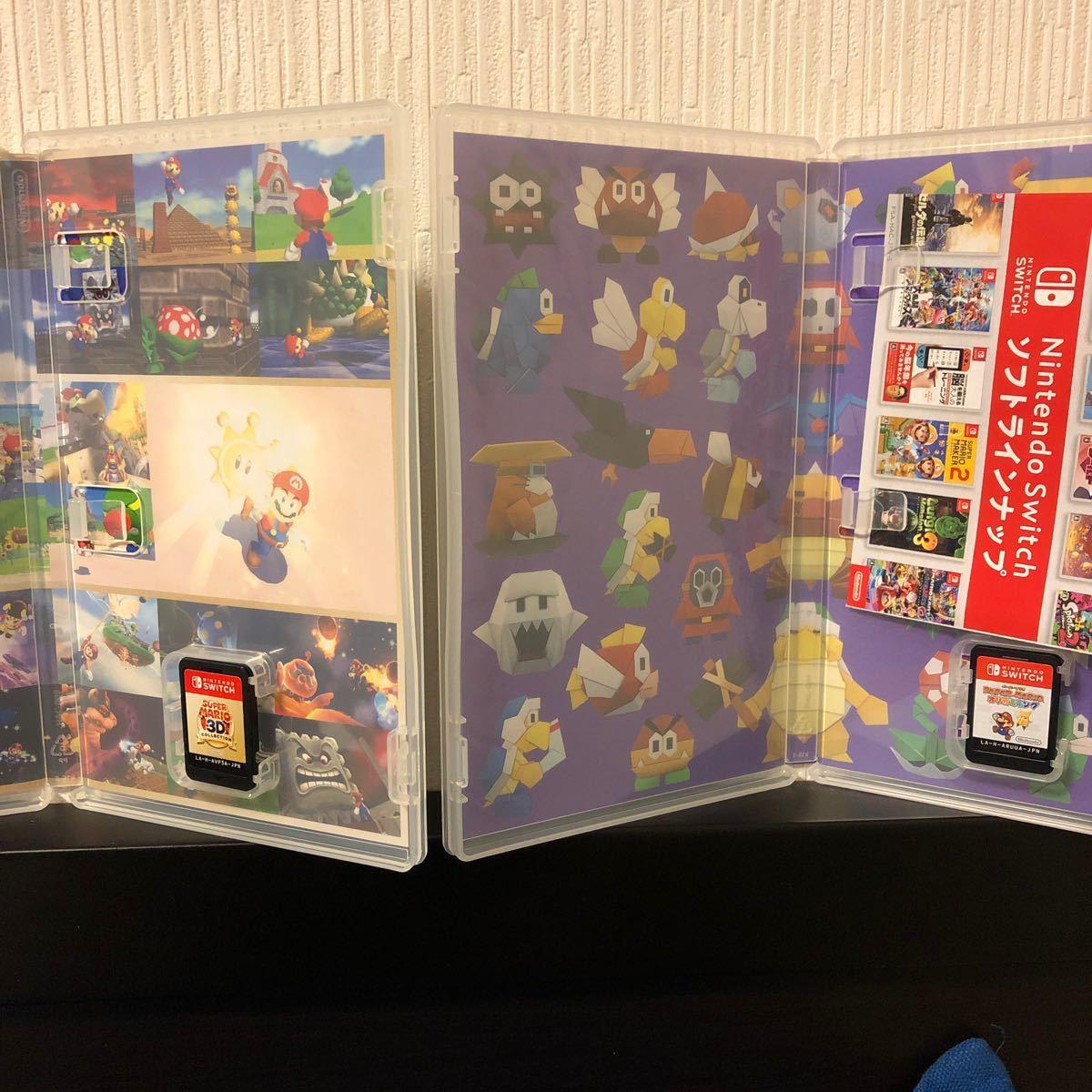 ペーパーマリオオリガミキング スーパーマリオ3Dコレクション 2点セット