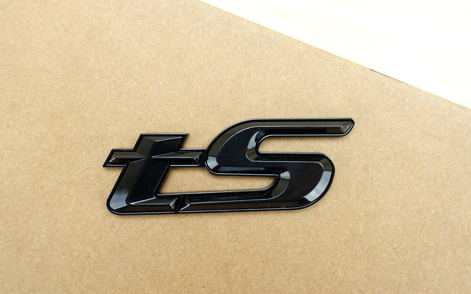 tSエンブレム 黒 WRX S4 WRX Sti BRZ フォレスター インプレッサ XV レガシィ レヴォーグ エクシーガ SVX R2 R1 ヴィヴィオ_画像3