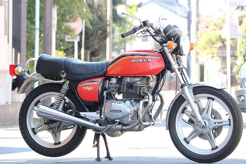1978年/コーションラベル付/フルオリジナル/ホーク2/HAWK2/オリジナルペイント/フルノーマル/ワンオーナー車/CB400T/エンジン載せ替え無し