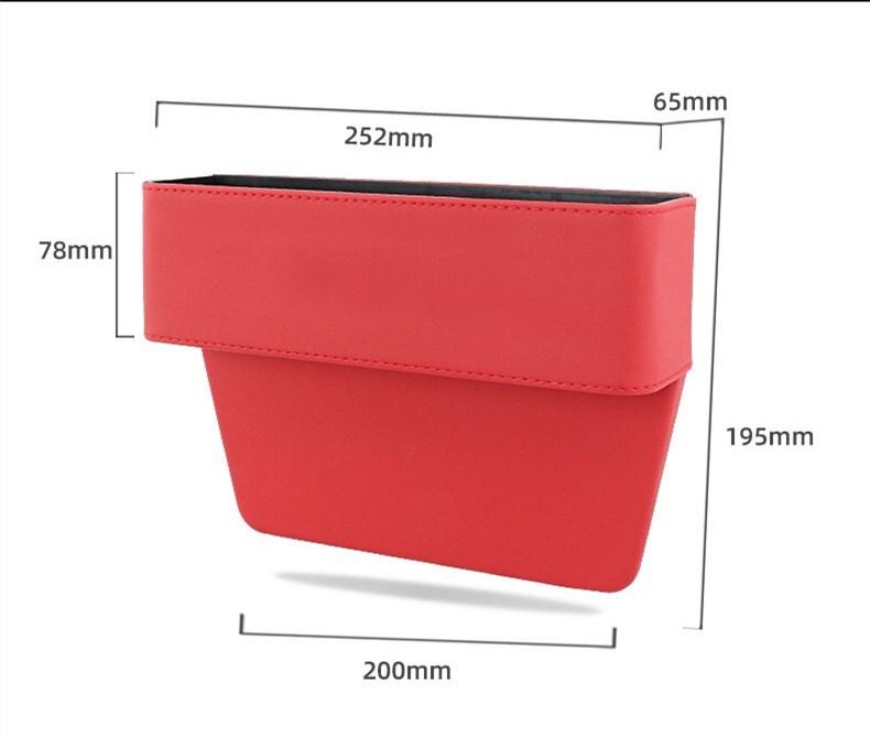 ジープ jeep 車用収納ポケット 便利グッズ 車載用 小物入れ 小銭 スマホ スマートフォン 携帯 整理 ボックス カーシート/赤 /黑 2色選択可_画像6
