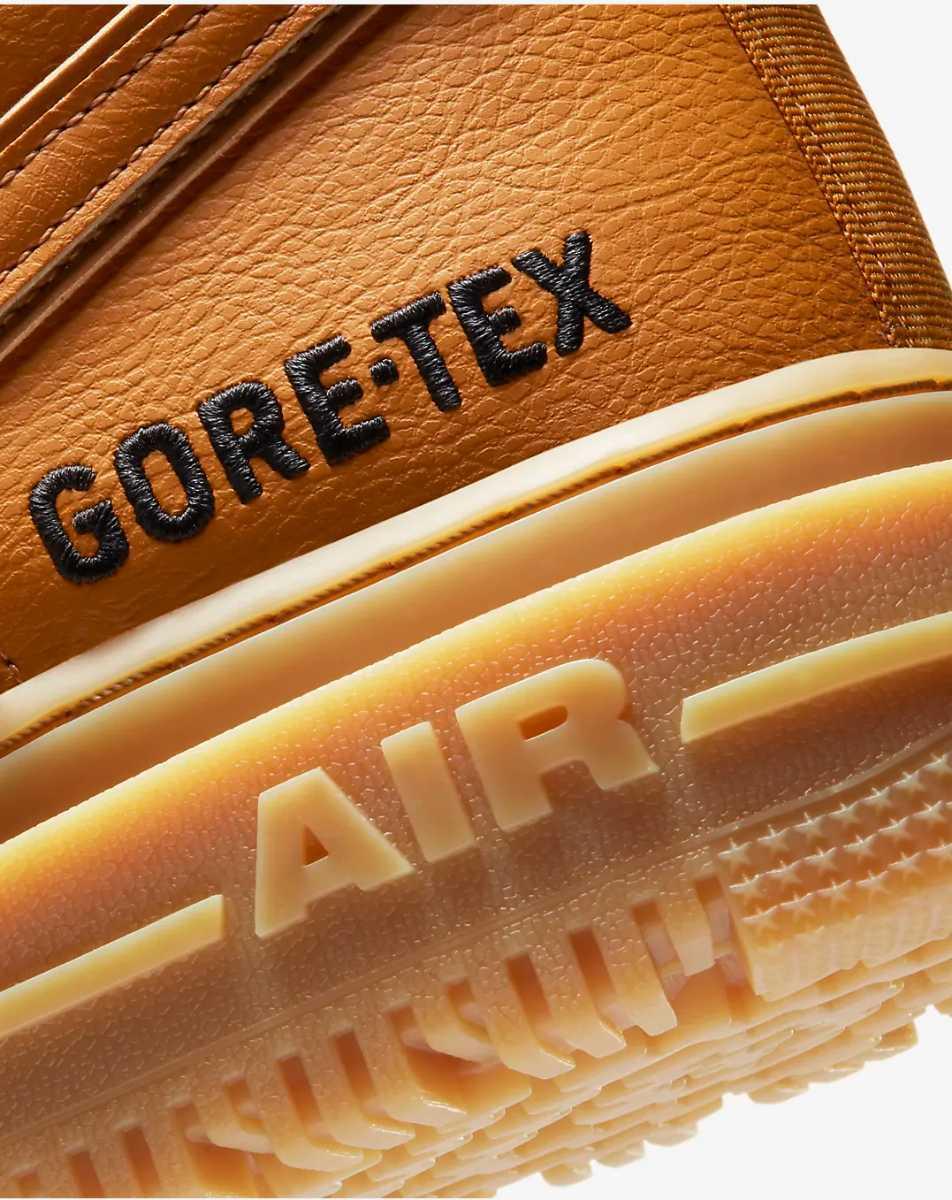 ナイキ ゴアテックス エアフォース1 ハイ ブーツ 27cm US9 GORE-TEX AIR FORCE 1 High GTX BOOT 室内試着品_画像3