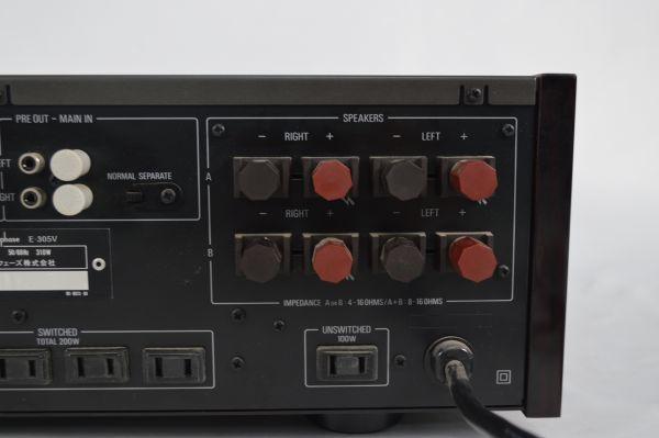 Accuphase アキュフェーズ アンプ E-305V 通電確認済み オーディオ機器_画像7