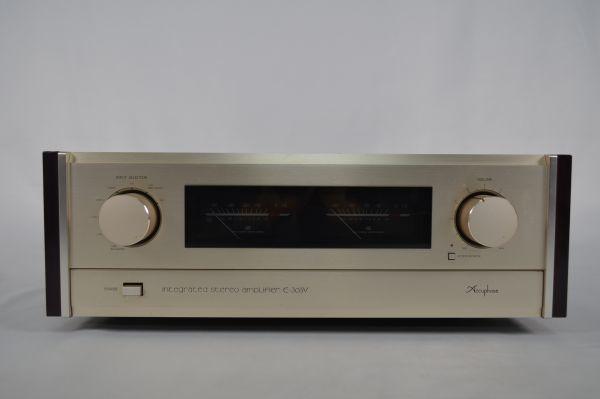 Accuphase アキュフェーズ アンプ E-305V 通電確認済み オーディオ機器_画像1