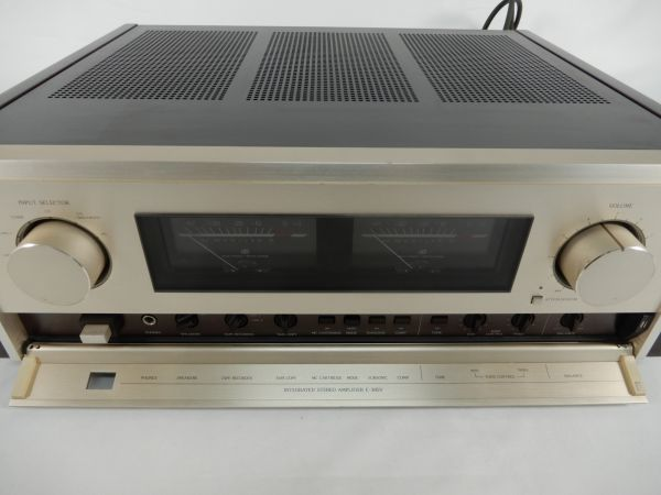 Accuphase アキュフェーズ アンプ E-305V 通電確認済み オーディオ機器_画像10